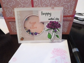 Mother's Day shaker card